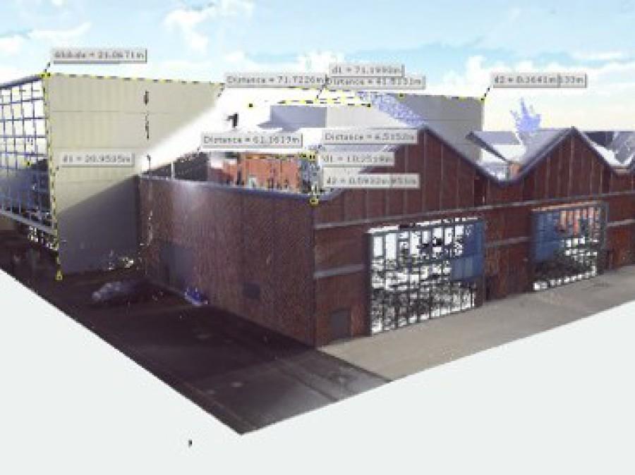 BIM bâtiments existants - 3dynamique - scan3 - Caen - Reims - Paris - Rouen - Nancy - Le Havre - Ile de France - Normandie - Champagne