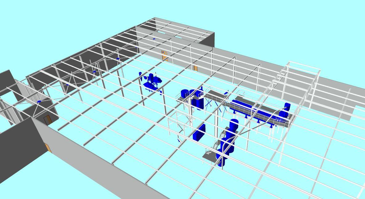 Aménagement usine 3dynamique - scan3 - Caen - Reims - Paris - Rouen - Nancy - Le Havre - Ile de France - Normandie - Champagne