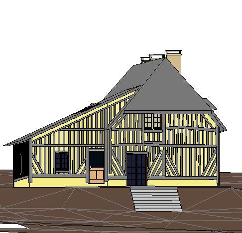 Maquette numérique 3D Maison Individuelle - 3dynamique - scan3 - Caen - Reims - Paris - Rouen - Nancy - Le Havre - Ile de France - Normandie - Champagne