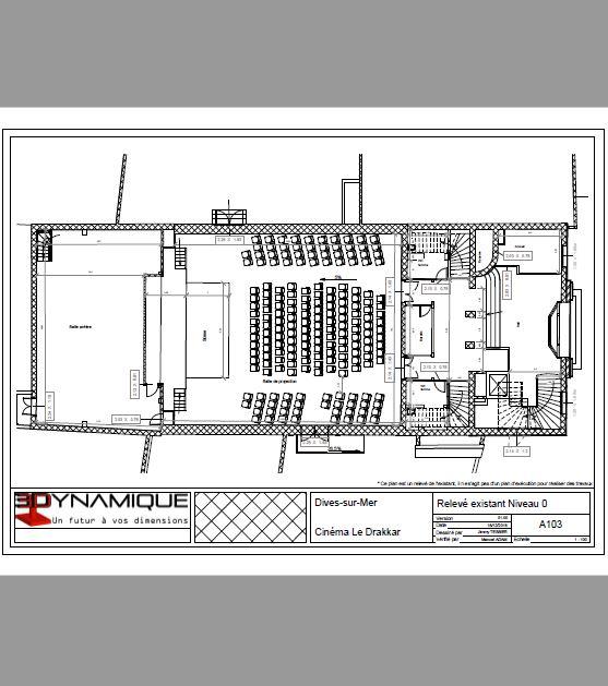 Plan 2D - 3dynamique - scan3 - Caen - Reims - Paris - Rouen - Nancy - Le Havre - Ile de France - Normandie - Champagne